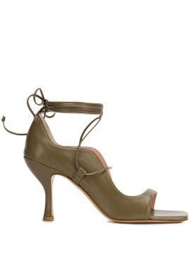 Linda Wrap-around Sandals - Gia Couture