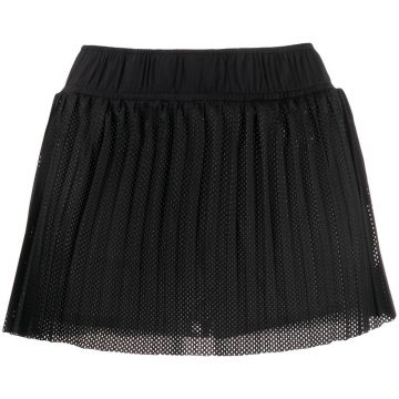 Pleated Perforated Short - Kappa