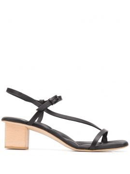 Cross Strap Sandals - Del Carlo