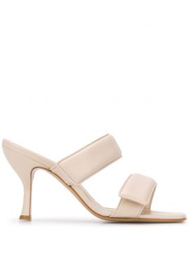 Double Strap Sandals - Gia Couture