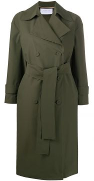 Oversized Double-breasted Trench Coat - Harris Wharf London