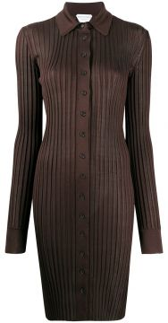 Ribbed Knit Dress - Bottega Veneta