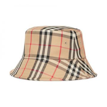Vintage Check Bucket Hat - Burberry