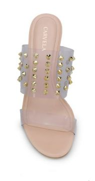 Transparent Panel Studded Sandals - Carvela