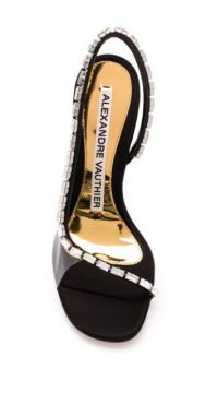 Elizabeth 100mm Crystal-embellished Sandals - Alexandre Vaut