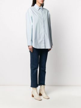 Oversized Pointed Collar Shirt - Acne Studios