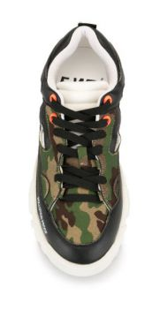 Pollution Proof Camouflage Trainers - Fwd