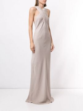 Polish Knot Detail Gown - Ginger & Smart
