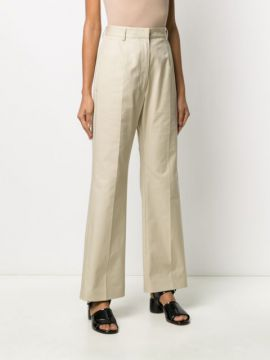 Wide Leg Tailored Trousers - Mm6 Maison Margiela