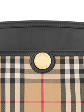 Society Vintage-check Clutch Bag - Burberry