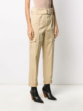 Belted Cargo Trousers - Frame