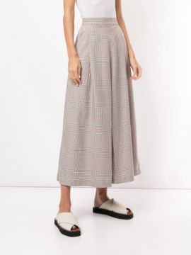 Imperial Plaid Culottes - Ginger & Smart