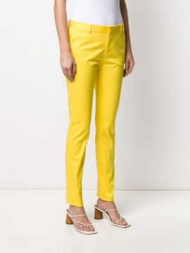 Pleated-detail Slim-fit Trousers - Dsquared2