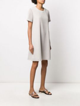 Ribbed T-shirt Dress - Harris Wharf London