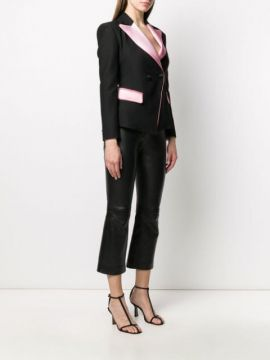 Fitted Buttoned Blazer - Hebe Studio