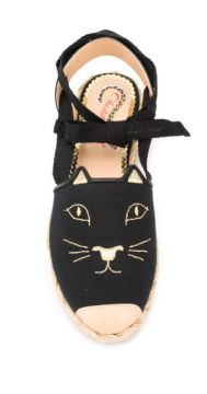 Espadrille Kitty De Canvas - Charlotte Olympia