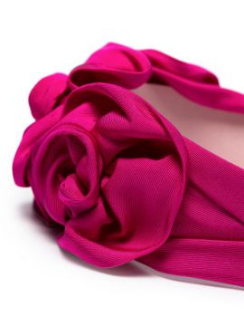 Rosette Silk Headband - Jennifer Behr