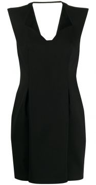 V-neck Mini Dress - Versace