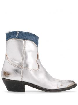 Young Cowboy Boots - Golden Goose