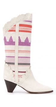 Embroidered Boots - Isabel Marant