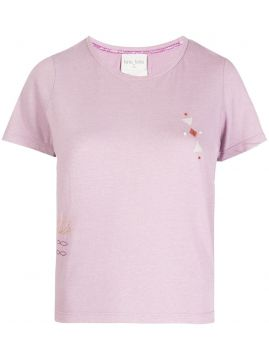Embroidered Detail T-shirt - Forte Forte