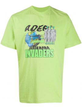 Camiseta Com Estampa Invaders - Ader Error