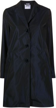 Single Breasted Mid-length Coat - Aspesi