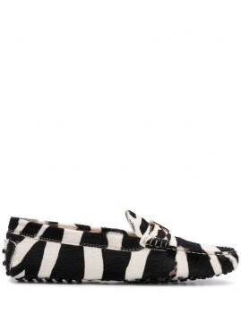 Zebra Loafers - Tods