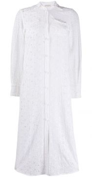 Broderie Anglaise Midi Dress - Anjuna