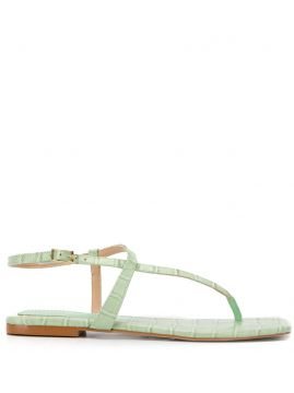 Crocodile Effect Sandals - Carvela