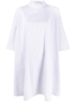 Oversized Pinstriped Top - Givenchy