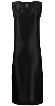 Satin Shift Dress - Ann Demeulemeester