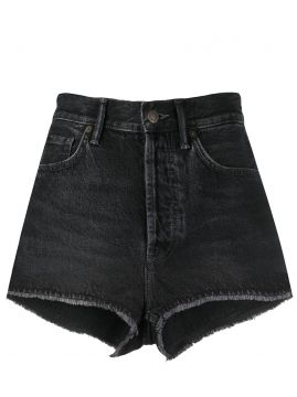 High-waisted Denim Short - Acne Studios