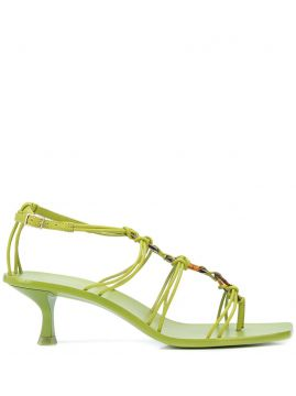 Ziba Kitten Heel Sandals - Cult Gaia