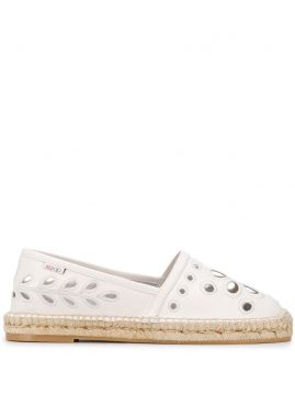 Embroidered Espadrilles - Redvalentino