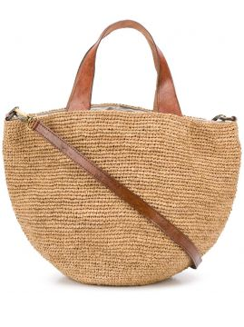 Woven Top-handle Tote - Ibeliv
