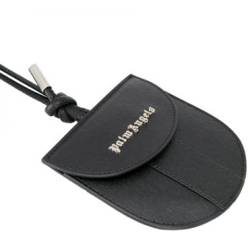 Leather Neck Pouch - Palm Angels