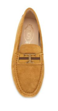 Logo Plaque Loafers - Tods