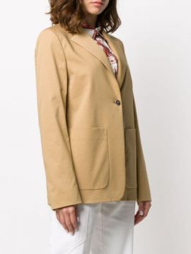 Single-breasted Tailored Blazer - Fay