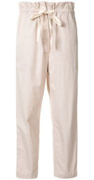 Cropped Linen Trousers - Venroy