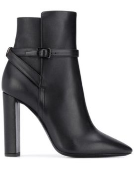 High Heel Ankle Boots - Saint Laurent