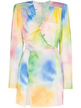 Vestido Mini Tie-dye - The Attico