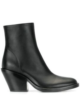 Zipped Ankle Boots - Ann Demeulemeester