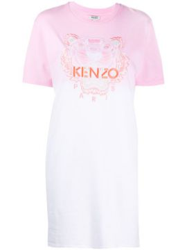 Tiger Gradient T-shirt Dress - Kenzo