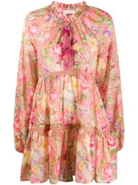 Luana Floral-print Dress - Anjuna
