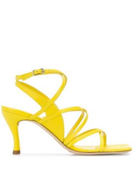 Square Toe 90mm Strappy Sandals - By Far