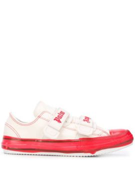 Touch Strap Canvas Sneakers - Palm Angels
