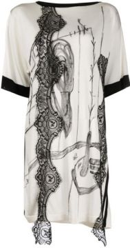 Camiseta Oversized Com Renda - Antonio Marras