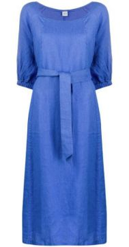 3/4 Sleeves Tie-waist Dress - Aspesi