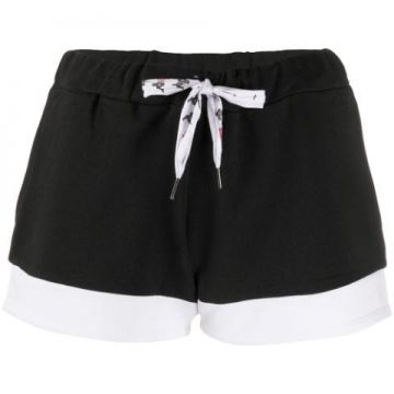 Logo Print Colour Block Short - Kappa